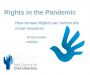 Human rights in a global pandemic